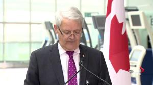 Garneau announces new rules protecting Canadian air travellers
